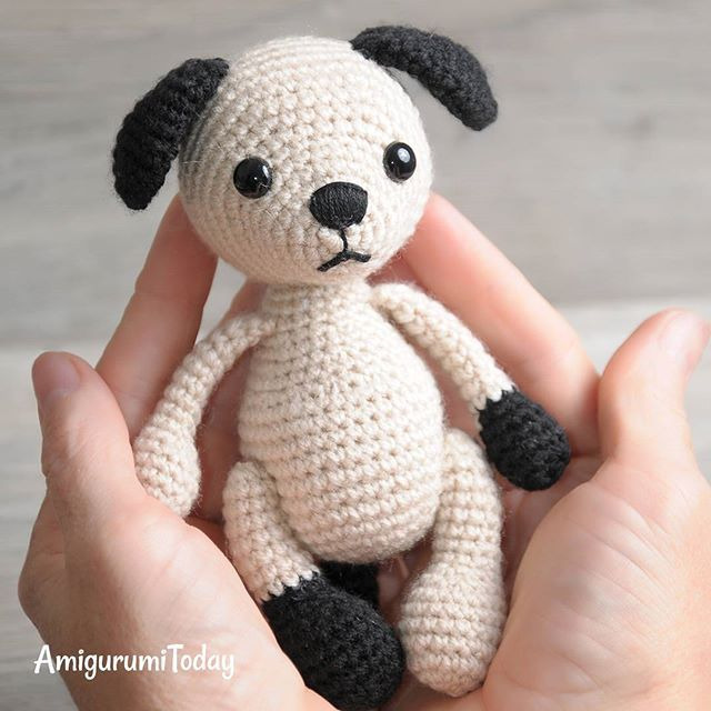 Every little child needs a plush friend to talk to, to share secrets and play with. Crochet a sweet amigurumi puppy to be a best friend for your babe!  Find pattern on Amigurumi Today! #amigurumi #crochet #dogs #puppies #amigurumipattern #crochetpattern #crochetaddict #lovecrochet #lovecraft #diy #pattern #crochettoy #amigurumicrochet #crochetart #amigurumis #amigurumitoy #amigurumidolls #crochetdog #handmade #handmadegifts #giftideas #funnydogs #funnypuppy #lovedog #doglover