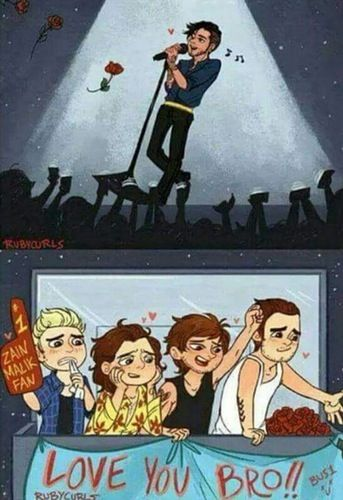 One Direction Cartoons About Zayn Malik Leaving That Will Make You Cry  This shit happened years ago and this still made me cry