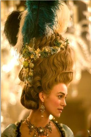 Keira Knightley in 'The Duchess',a 2008 British drama film directed by Saul Dibb.