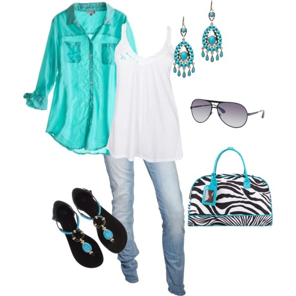 Feeling Beachy, created by donna-williams-burgess on Polyvore