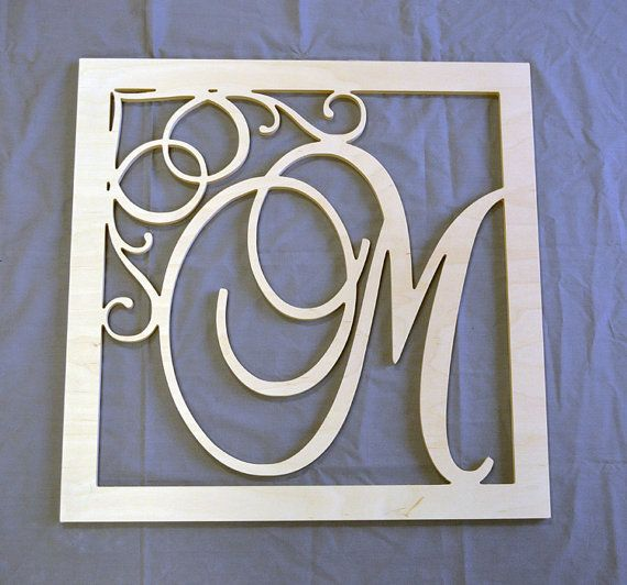 The 25 best large wooden letters ideas on pinterest for Large wall letters for nursery