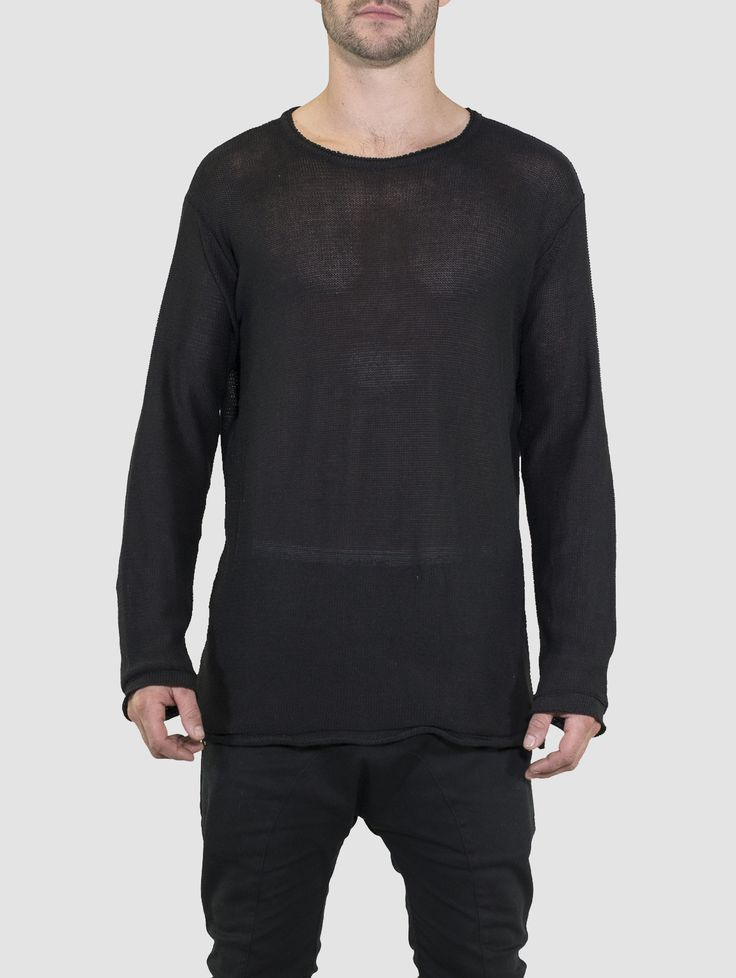 All Day Crew Knit Black