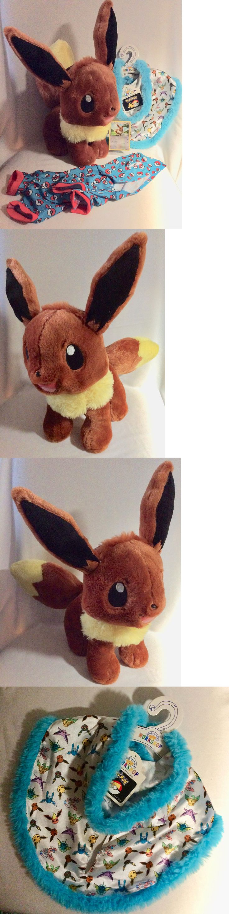 Pok mon 1524: Build A Bear Pokemon Eevee W Sound, Babw Exclusive Pokemon Tcg Card And More! -> BUY IT NOW ONLY: $49.99 on eBay!