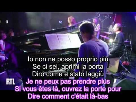Isabelle Boulay - L'Italien - Lyrics