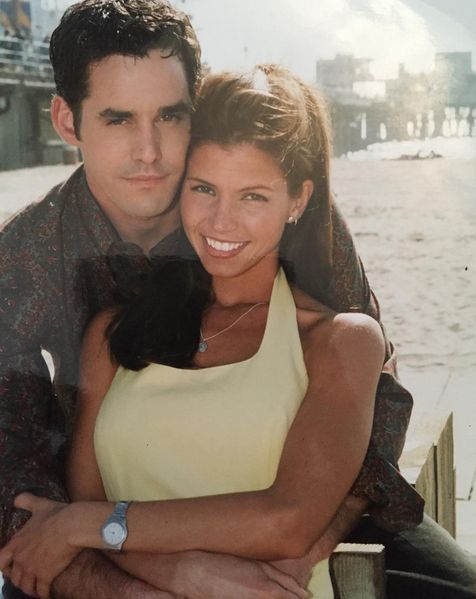 "Buffy the Vampire Slayer S3 Cast: Nicholas Brendon ""Xander,"" Charisma Carpenter ""Cordelia"""