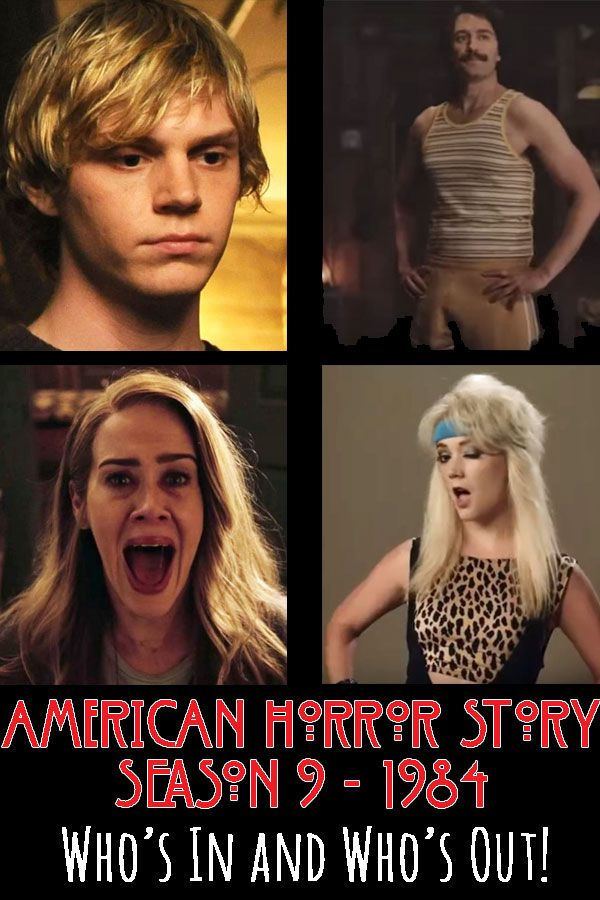Ahs Season 9 Cast Announcement American Horror Story Seasons American Horror Story American Horror