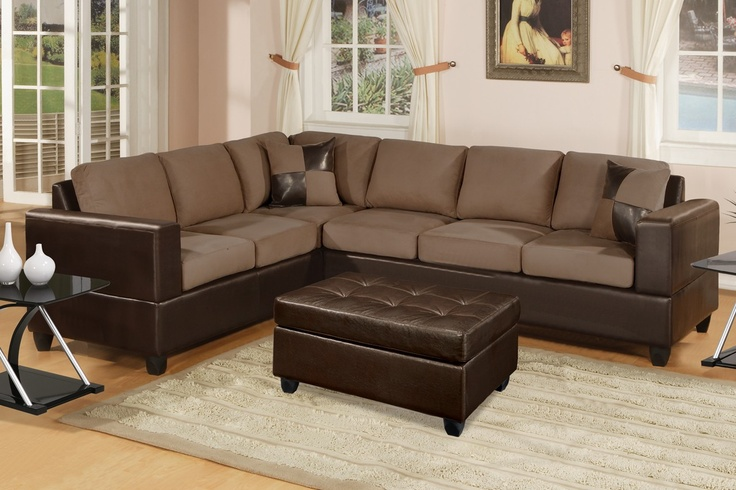 Los Pinos Sectional Sofa (Saddle)