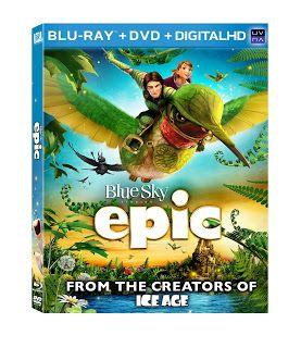 Aprendizaje Divertido: Películas: Lanzamiento de Epic en DVD y sorteo