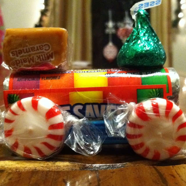 Giveaways For Christmas Party: Christmas Party Favor Train
