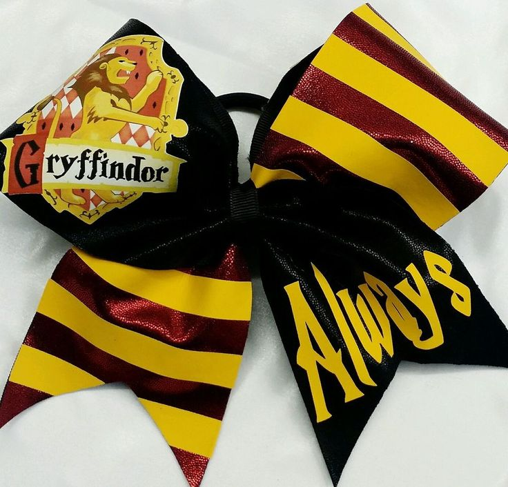 Cheer Bow -  Harry Potter Gryffindor - cheerbowfactory  #Disney