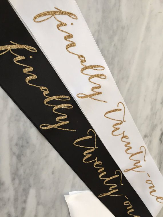 Make the guest of honor feel special! Great for photos! This is a quality sash that everyone will love! 3 wide double faced satin ribbon with