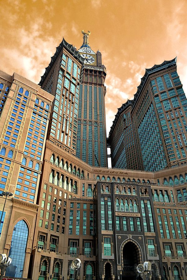 Makkah Towers, Mecca, Saudi Arabia