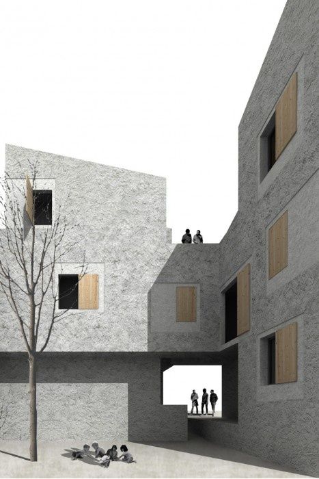 9 Viviendas en Puigpunyent / TEd'A arquitectes || Cortesía de TEd'A arquitectes