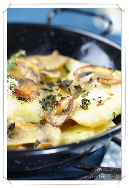 28 best images about patatas y legumbres on pinterest - Gratinado de patata ...