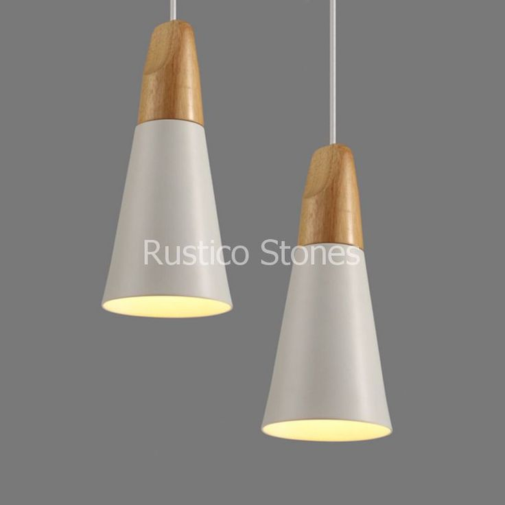 Lovely Vintage hanglamp retro vintage Alumnium hout Moderne klassieke elegante design stijl