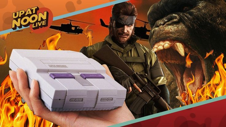 Nintendo's Next Mini Console, The Metal Gear Movie & Jumanji 2 - Up At Noon Live!: Plus, a bunch of movies we think you should watch!