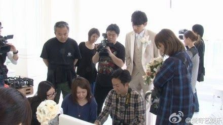 [Galery Photo] Behind The Scene Exclusive Interview QiyiTV Itakiss Season 2 Yuki Furukawa and Miki Honoka (c) http:// weibo....