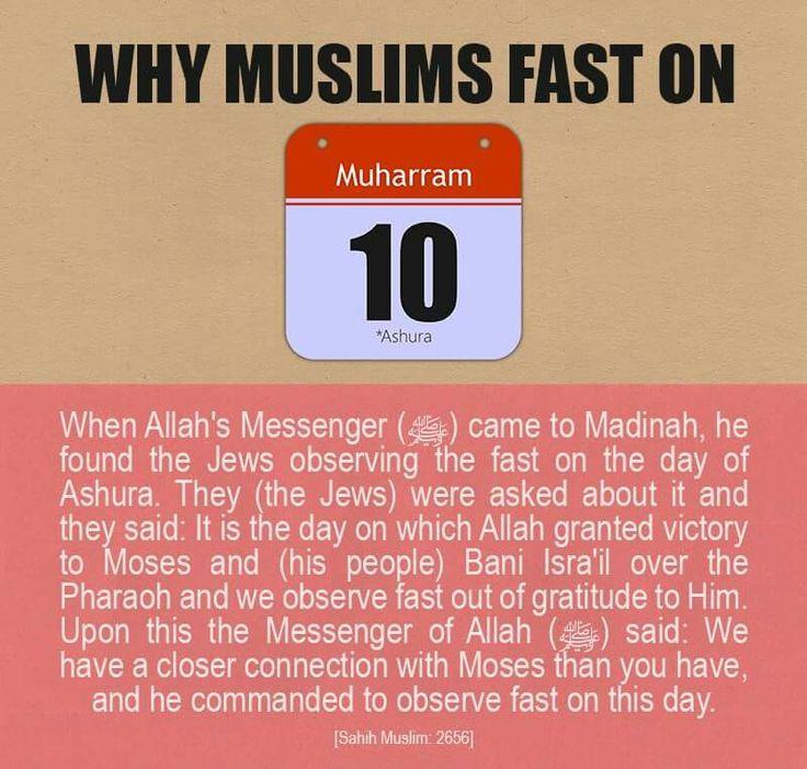 Fasting on 10 Muharram