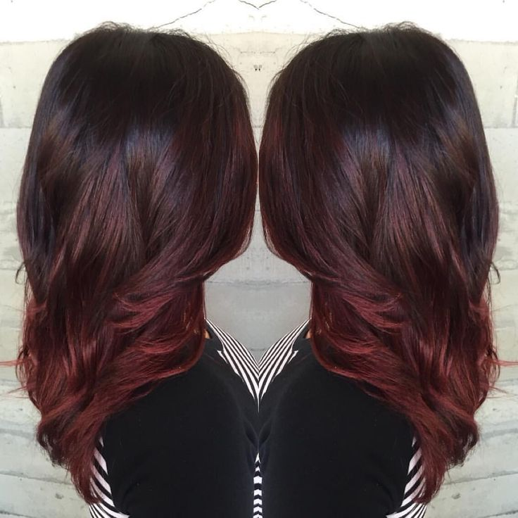 Best 25 burgundy hair highlights ideas on pinterest hair color dark burgundy hair with highlights see more burgundy bayalage more pmusecretfo Gallery