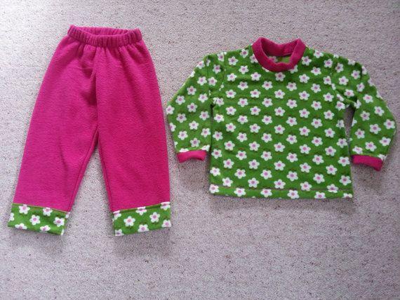 Fleece Sweatshirt and Pants by NoraMadeMe on Etsy