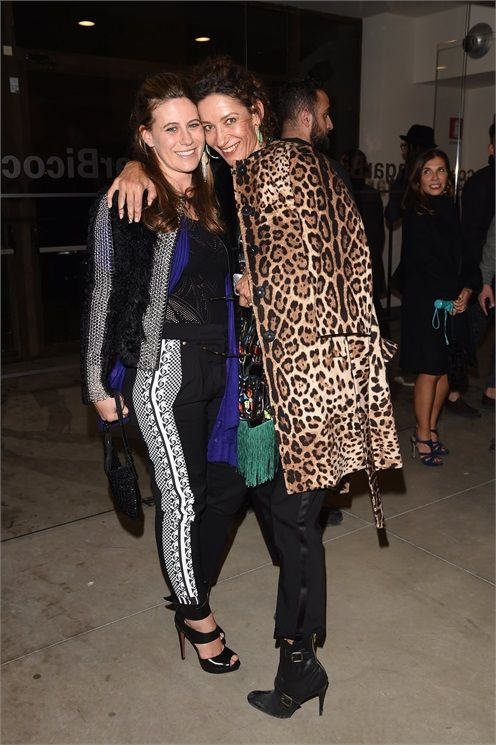Francesca Versace dsquared2 milano fashion week 2015