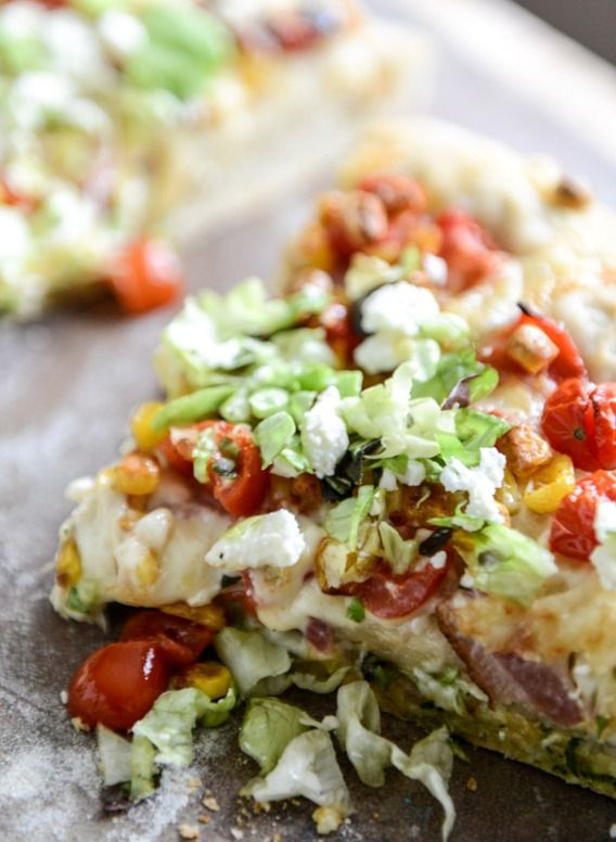 Yummy BLT Pizza with Grilled Corn and Feta – Your Taste Buds will Explode!