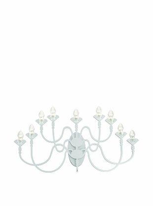 -27,867% OFF Fabbian Edge 9-Light Sconce, White