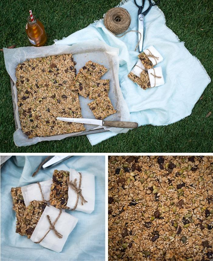how to make clean muesli bars