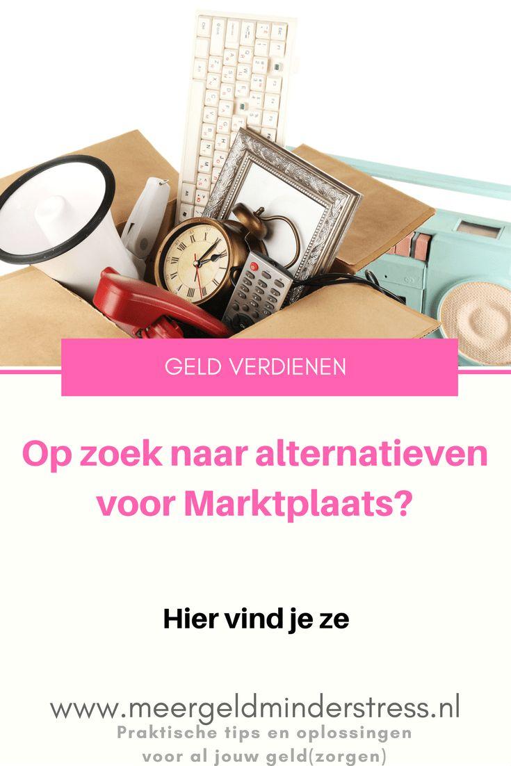 Wil je snel van je overbodige spullen af? Gebruik deze handige alternatieven voor Marktplaats.  #verkopen #minimaliseren #opruimen #marktplaats #meerverdienen #geldverdienen