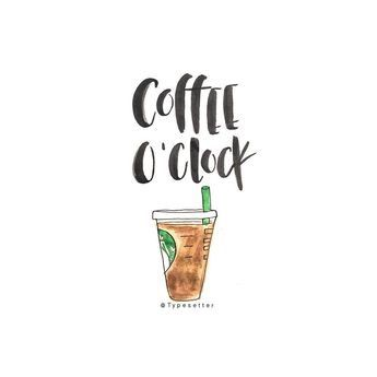 Every hour is coffee o'clock ☕️  #tuesday #morning #vibes #coffee #coffeetime #happyhour #positive #quote #quoteoftheday