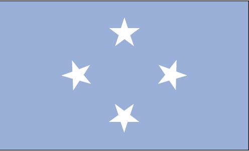 Country Flags: Federated States of Micronesia Flag
