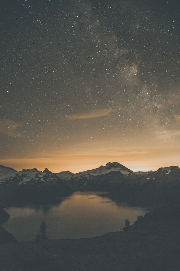 I am losing precious days. I am degenerating into a machine for making money. I am learning nothing in this trivial world of men. I must break away and get out into the mountains to learn the news. - John Muir   #getoutdoors Garibaldi Lake. Starry night mountain vibes shot by Luke Gram - Follow us on instagram @upknorth