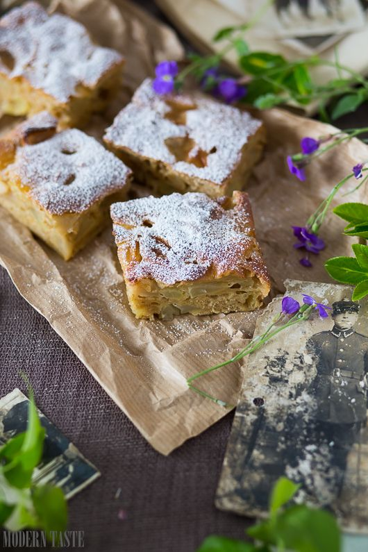 APPLE CINNAMON CAKE - TORTA DI MELE ALLA CANNELLA - GUEST POST - modern_taste_apple_cake