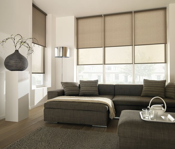 Luxaflex Dual Roller Blinds allow you to combine the functionality of two different fabrics in the one roller blind system offering flexibility to adjust both light levels and night time privacy in the one application.