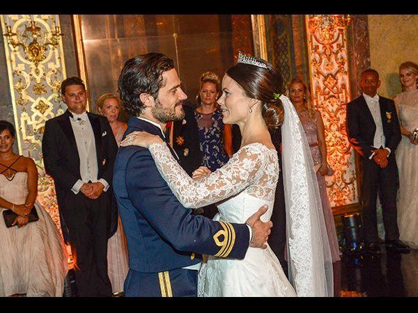 Prinzessin Sofia und Prinz Carl Philip (Quelle: EPA/JONAS EKSTROEMER)