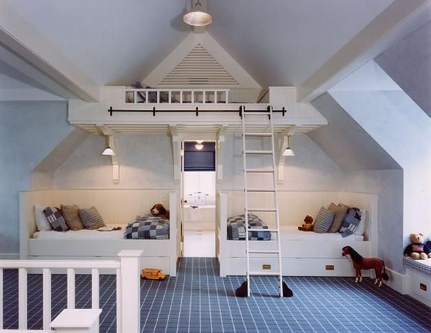 Attic kids room ideas bonus room pinterest attic for Attic room