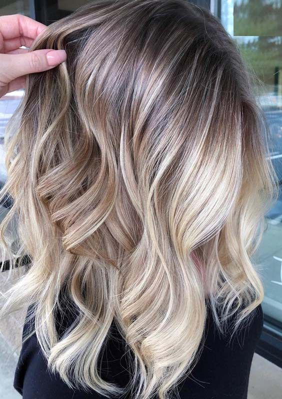 Stunning Blends Of Blonde Balayage Hair Colors for 2018 – Tracy Black-Ogle