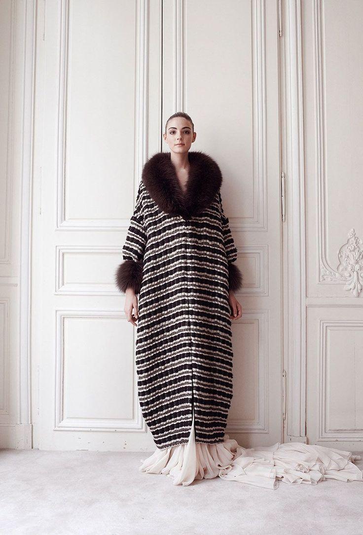 Delphine Manivet - Créatrice de robes du soir Paris : Robes du soir Automne Hiver 14 15 - Couture Campagne - Delphine Manivet