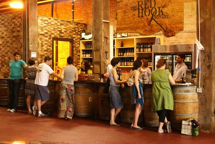 The Red Hook Winery.