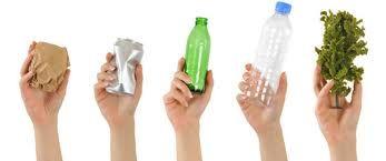 Reciclando desde tu hogar para el cuidado del medio ambiente.