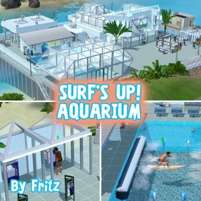 Surf's Up Aquarium by zeefritz - The Exchange - Community - The Sims 3