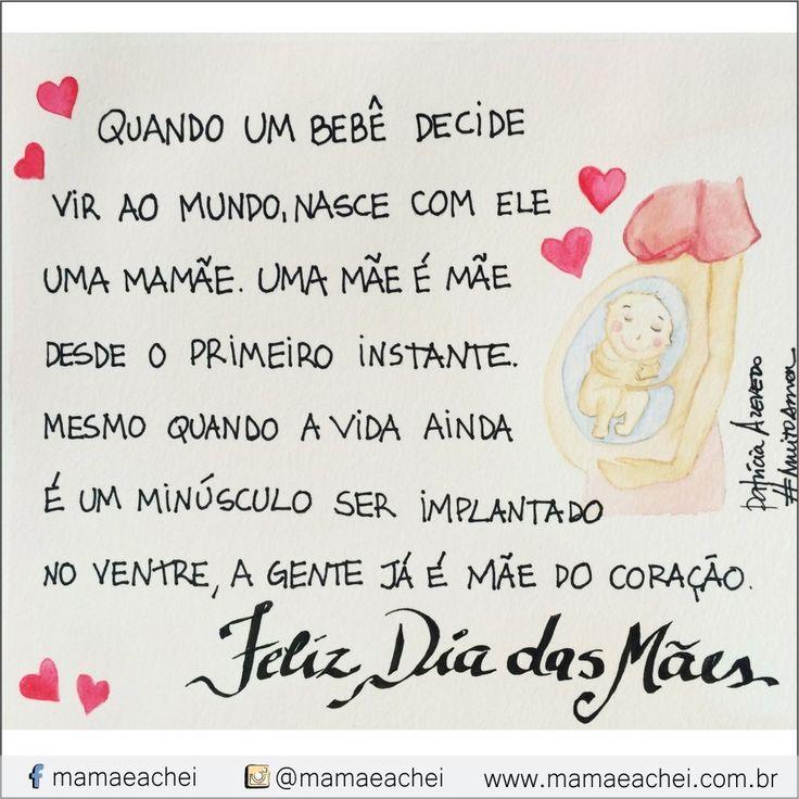 #muitoamor por @studiopapelamor para www.mamaeachei.com.br