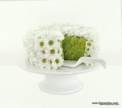 A flower cake: I love it!!