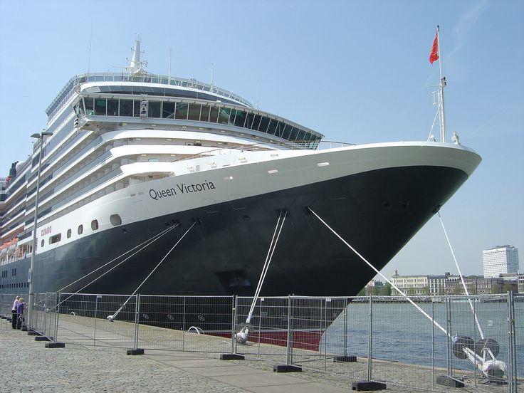 Cunard Queen Victoria Ship    Mediterranean cruise