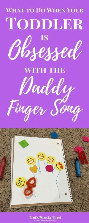 What to Do When Your Toddler is Obsessed with the Daddy Finger Song | family finger song, daddy finger where are you, youtube videos for toddlers, nursery rhymes, daddy finger craft, family finger craft, parenting tips, parenting hacks, mom hacks, motherh