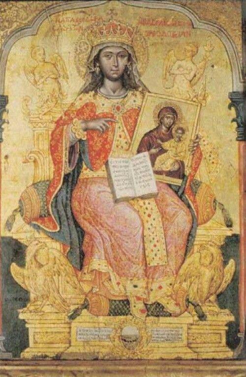 Saint Theodora - Emmanuel Tzanes