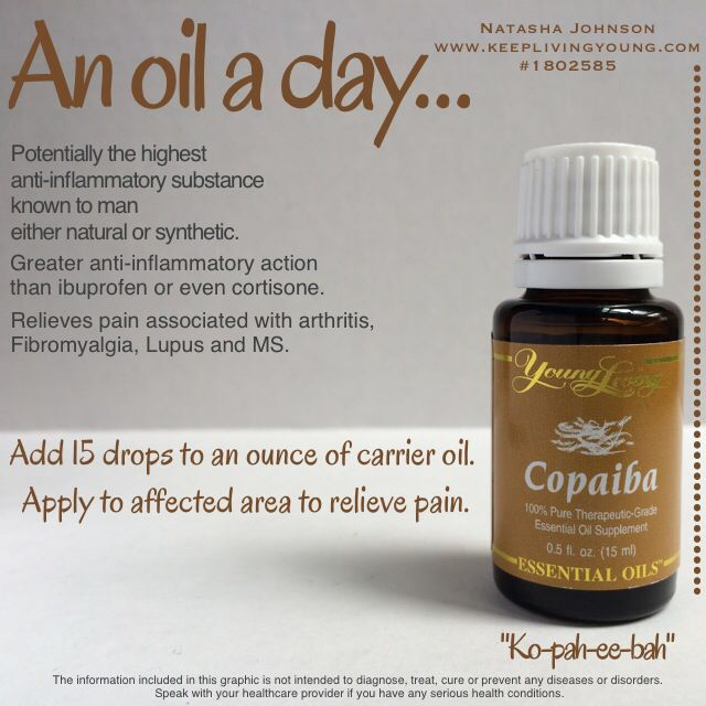 "Copaiba essential oil - ""Ko-pah-ee-bah"" Young living essential oils heal naturally www.youngliving.com #becomeamember sponsor ID #1867642"