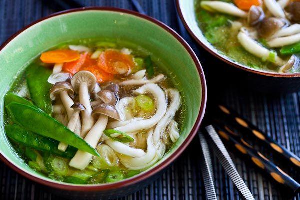 15 Minute Udon Miso Noodle Soup