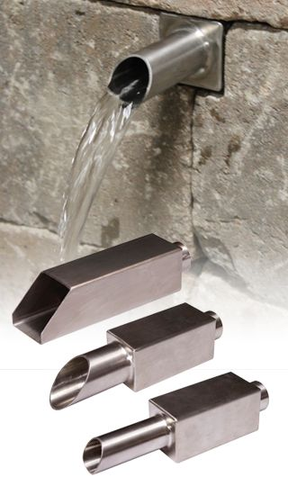Wall Waterfall Wall Fountains And Retaining Walls On Pinterest