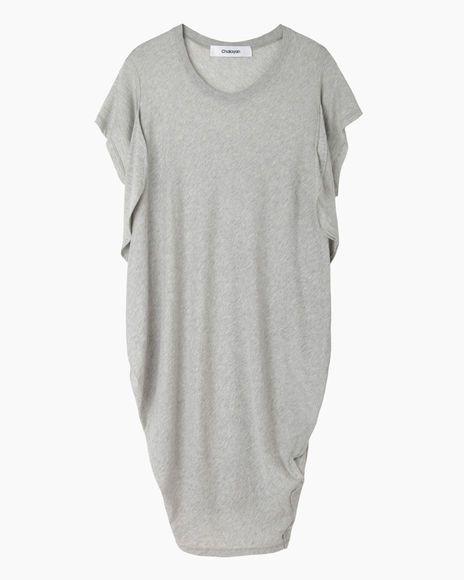 Chalayan Black   Seaweed T-Shirt Dress   La Garçonne
